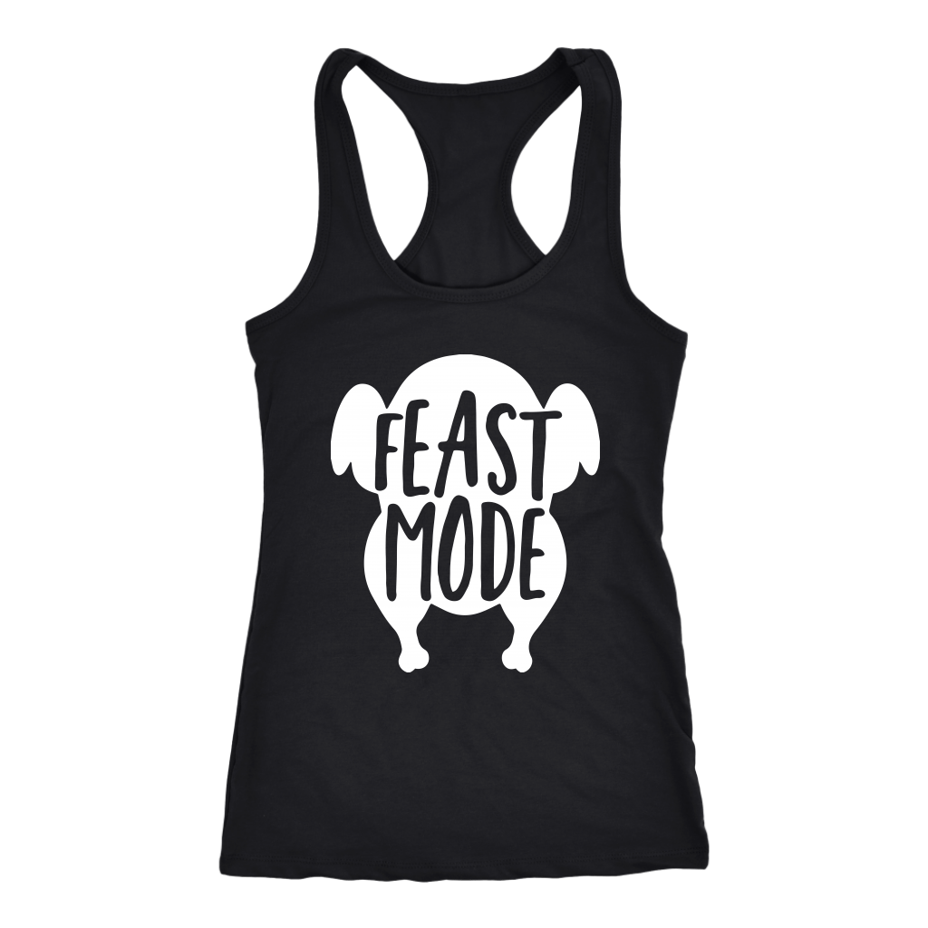 T-shirt - Feast Mode Racerback Tank