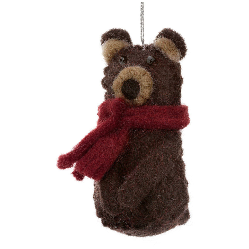 Felt Woodland Ornament