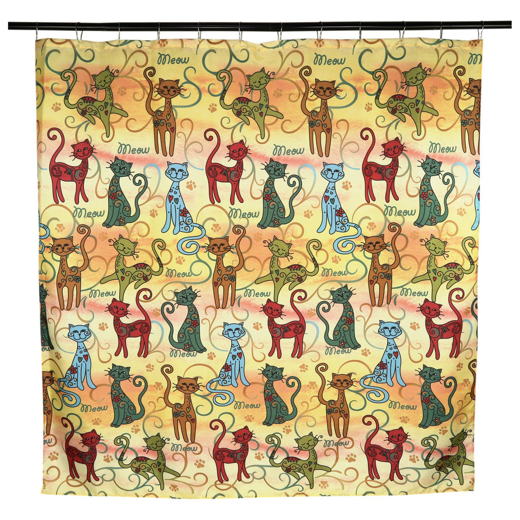 Festival Cats Shower Curtain