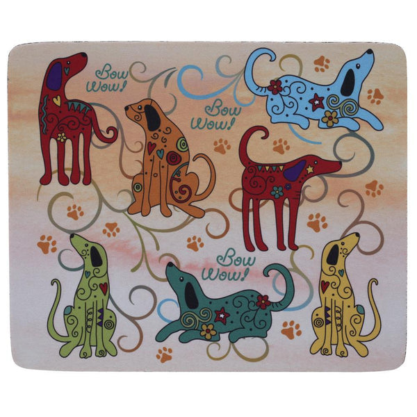 Festival Dogs Mousepad