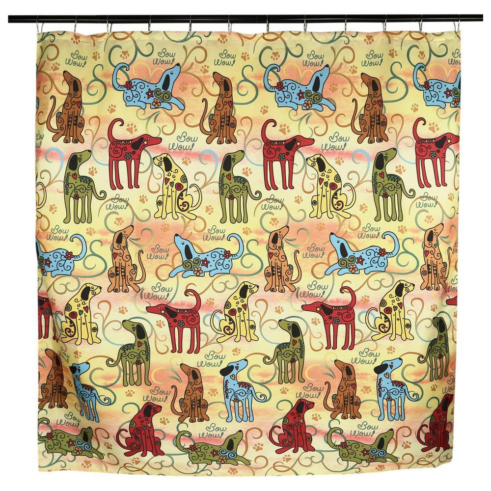 Festival Pets Shower Curtain