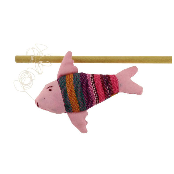Fish On A Stick Cat Toy