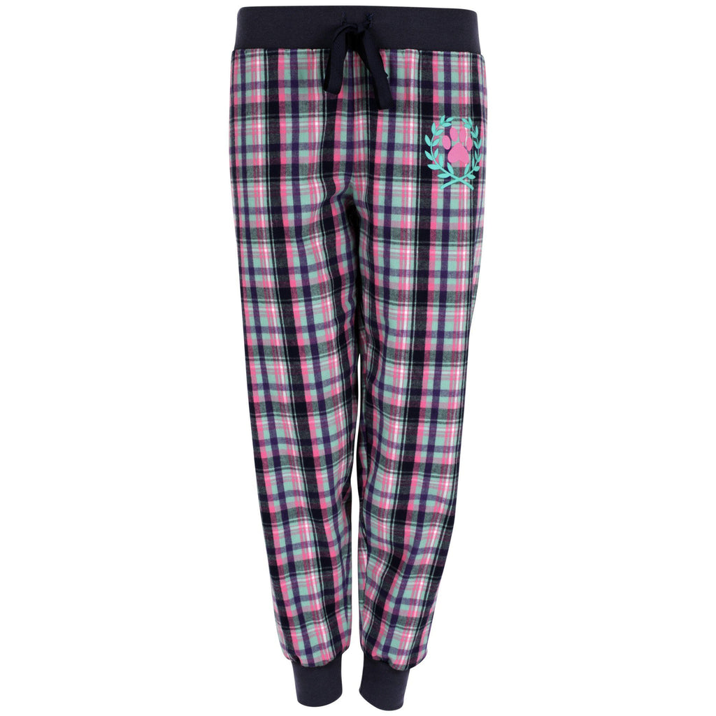 Flannel Paw Plaid Jogger