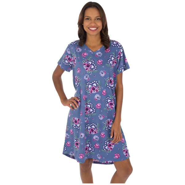Flower Paws Nightshirt
