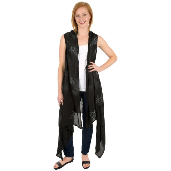 Fly By Night Sleeveless Duster
