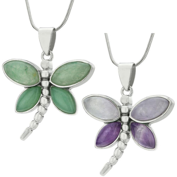 Fly Like A Dragonfly Necklace