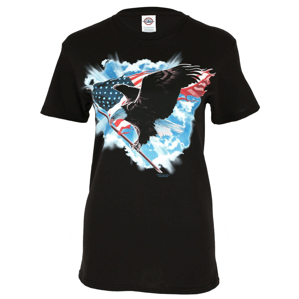 Flying Patriot Eagle T-Shirt