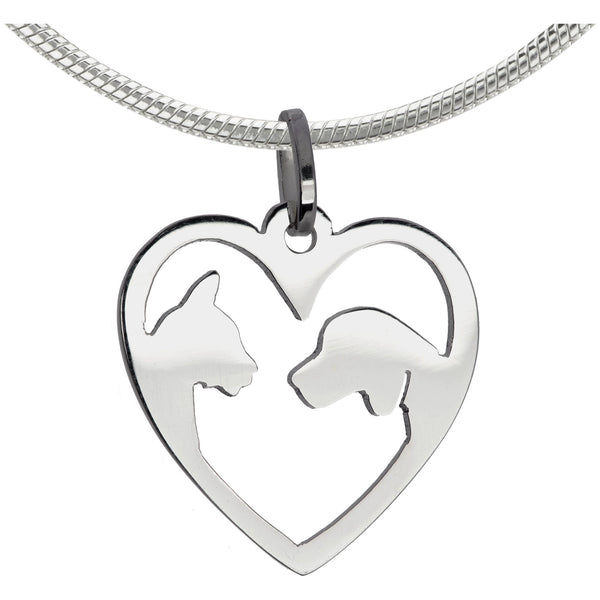Forever Friends Sterling Necklace