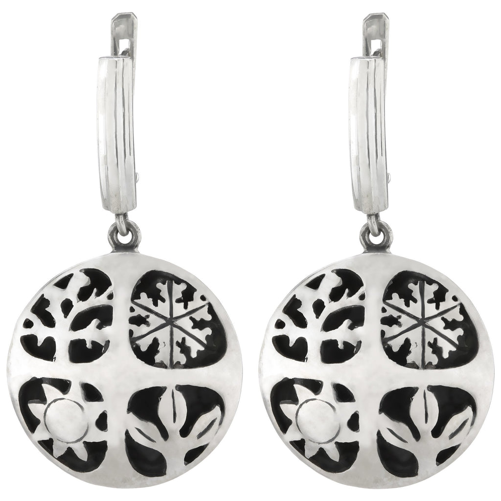 Four Seasons Sterling Earrings