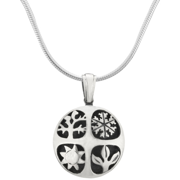 Four Seasons Sterling Necklace