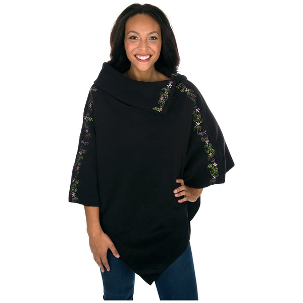 Free Spirit Fleece Poncho