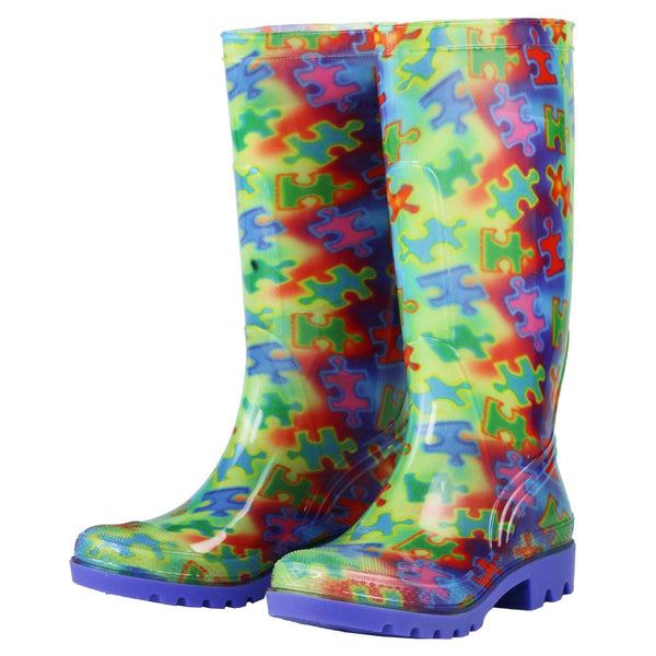 Free Spirit Piece Of The Puzzle Ultralite™ Rain Boots