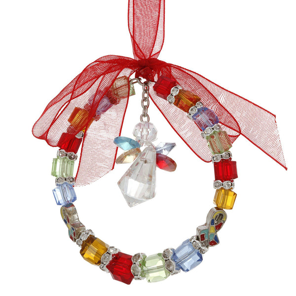 Free Spirited Angel Autism Ornament
