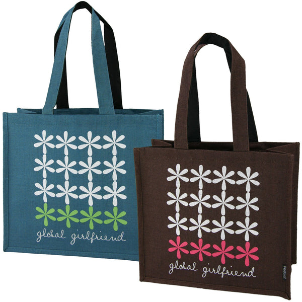 Freeset Flower Tiles Tote