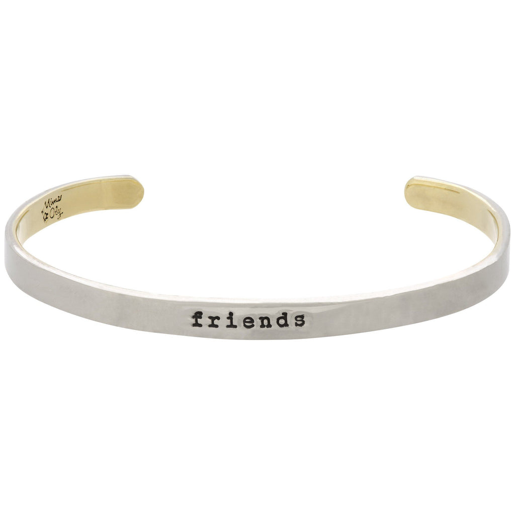Friends Forever Stackable Cuff Bracelet