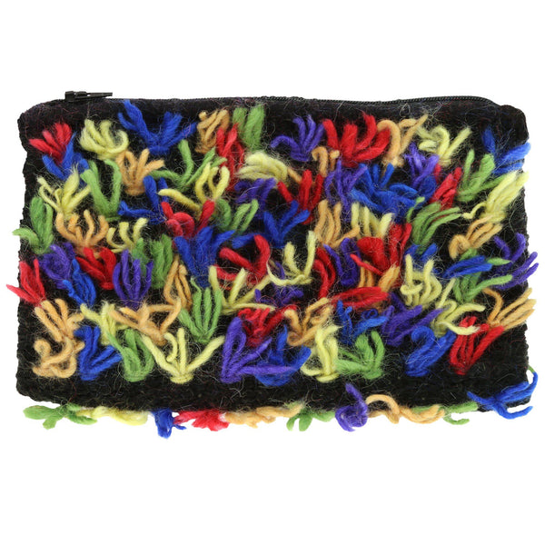 Fun Fringe Mohair Clutch