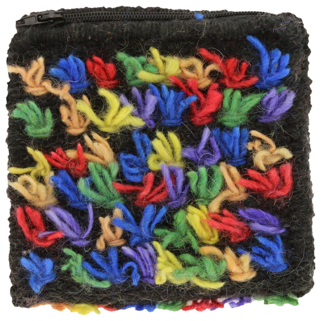 Fun Fringe Mohair Coin Purse