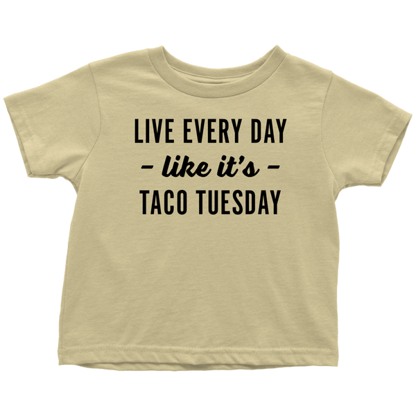 T-shirt - Taco Tuesday Toddler T-Shirt
