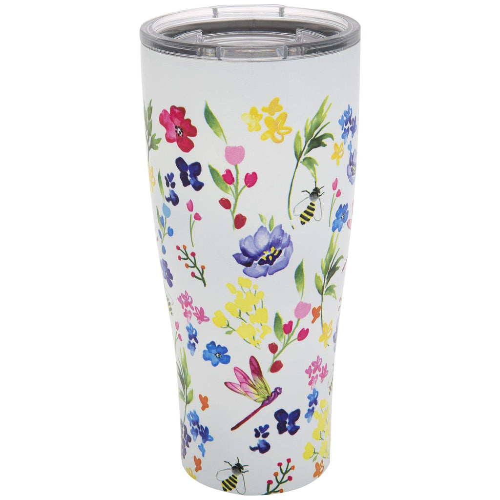 Garden Cottage Stainless Steel Travel Mug