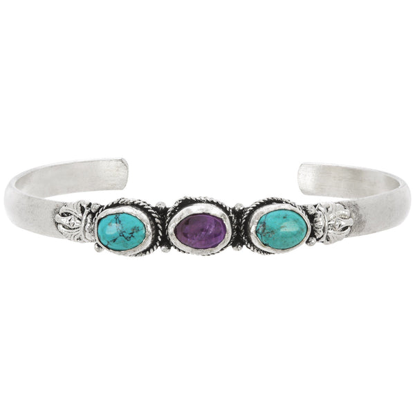 Gemstone Trio Bracelet