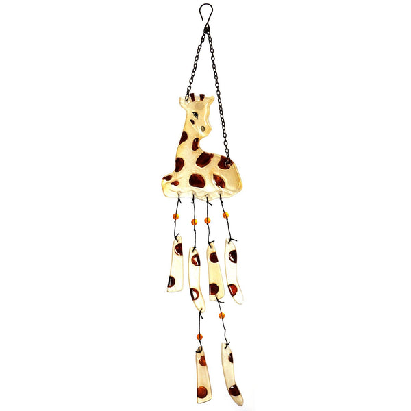 Giraffe Glass Wind Chime