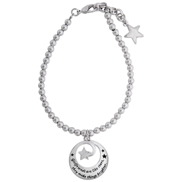Girlfriends Are Like Stars Bracelet
