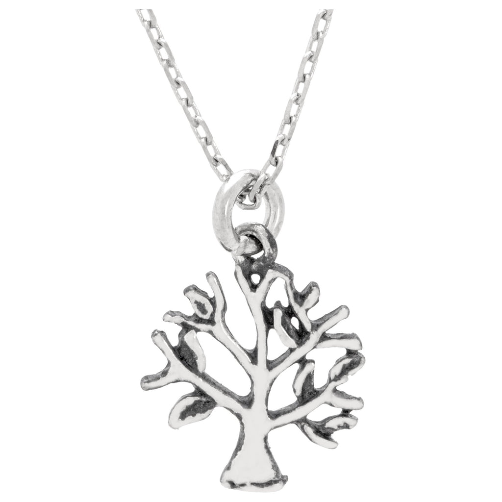 Giving Tree Of Life Sterling Necklace