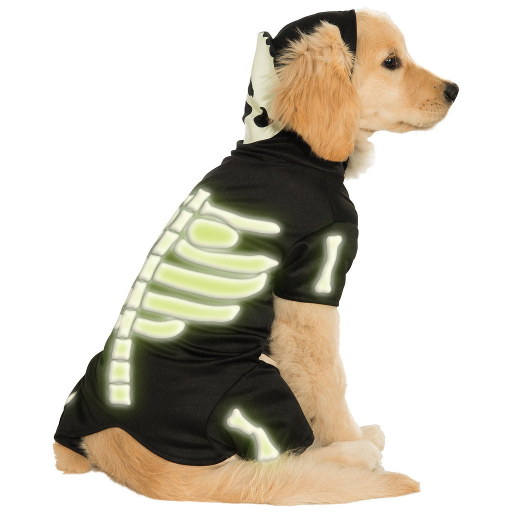 Glow-in-the Dark Skeleton Pet Costume