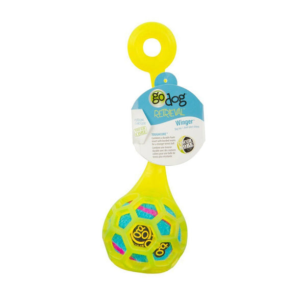 GoDog Retrieval Winger Dog Toy