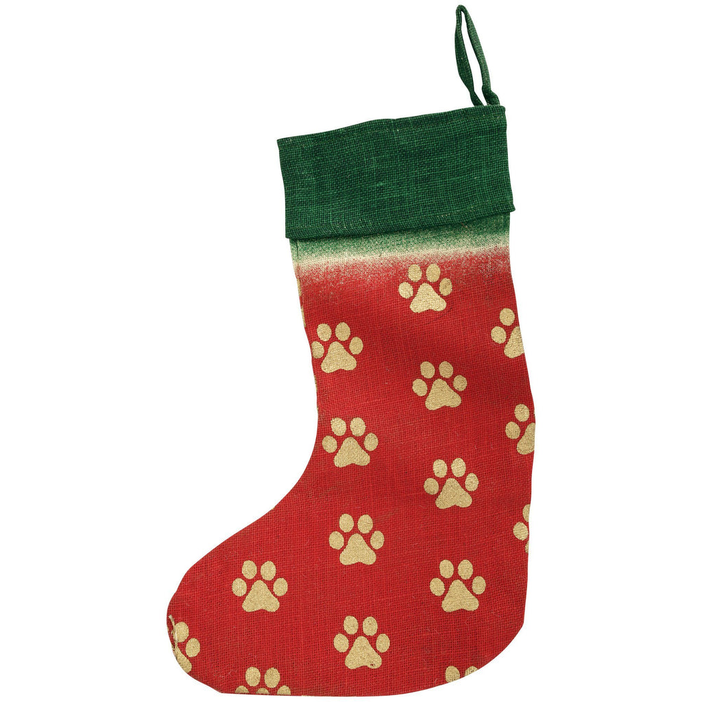 Golden Paws Jute Stocking