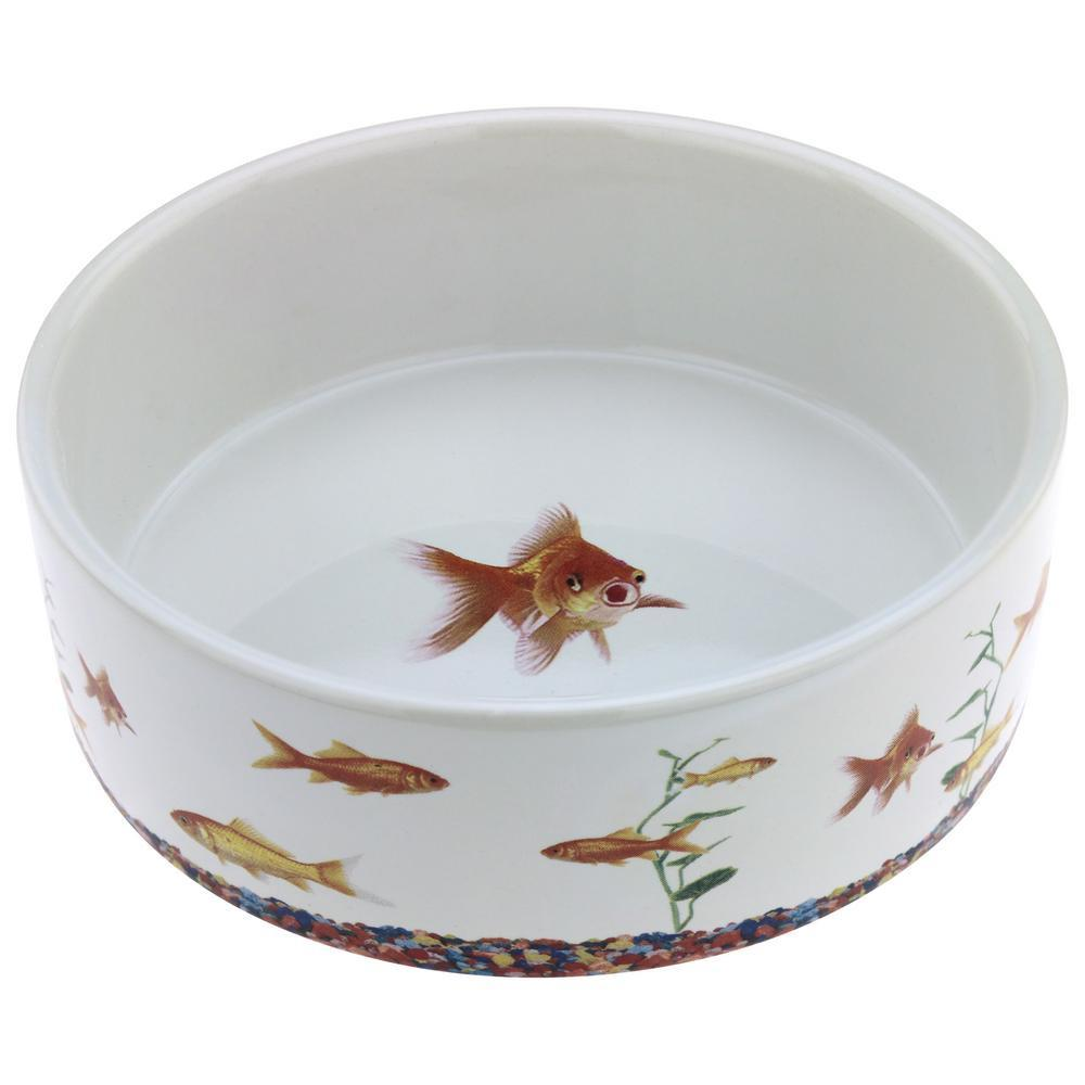 Goldfish Cat Bowl