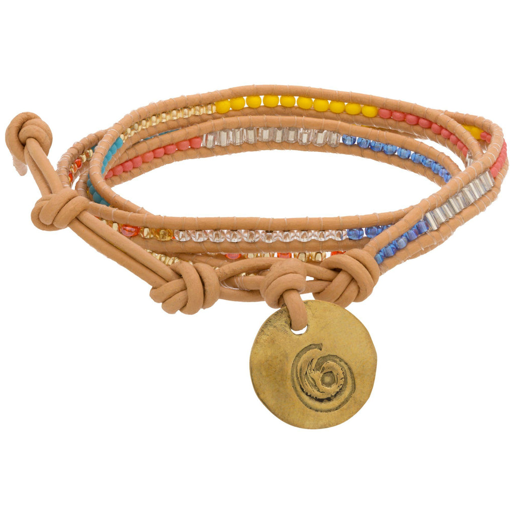 Good Karma Triple Wrap Bracelet