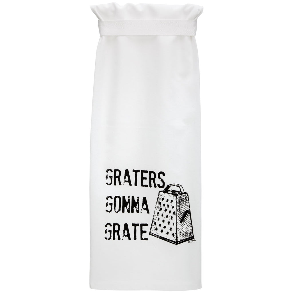 Graters Gonna Grate Dish Towel