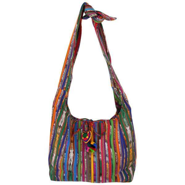 Guatemalan Recycled Rainbow Bag