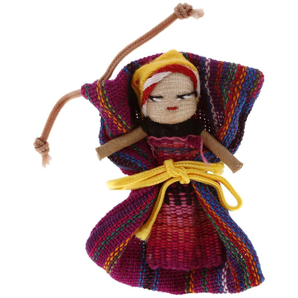 Guatemalan Worry No More Doll