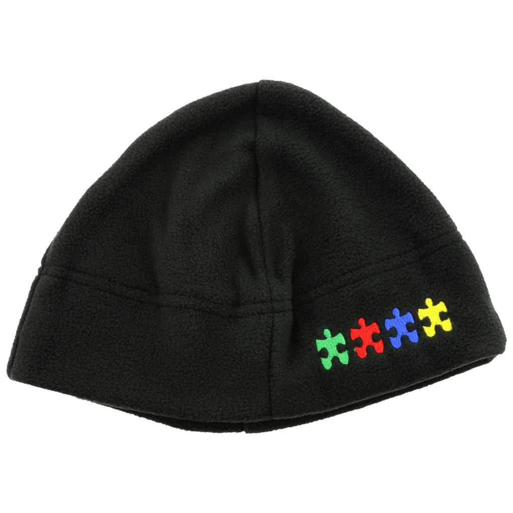 Promo - PROMO - Plush Autism Puzzle Fleece Hat