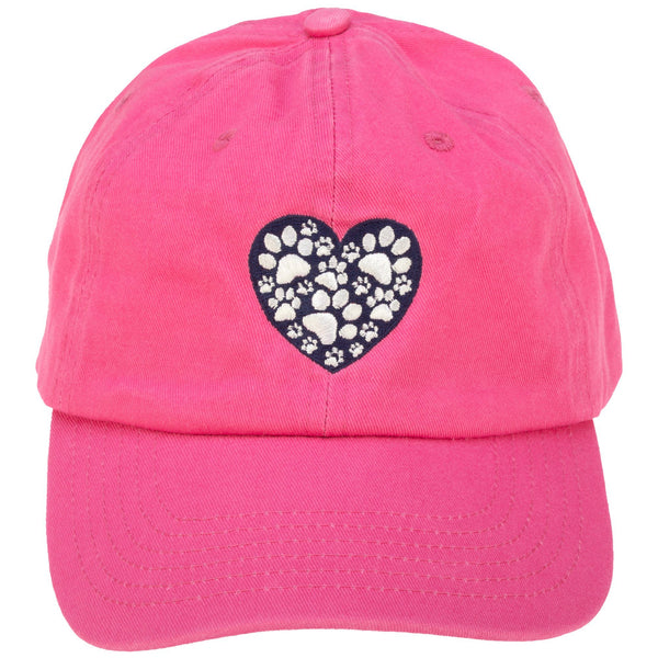 Heart Full Of Paws Baseball Cap