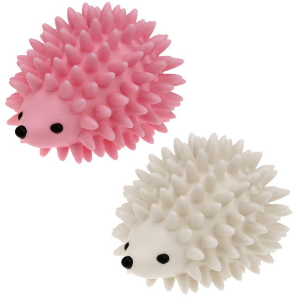 Hedgehog Pink & White Dryer Balls Set