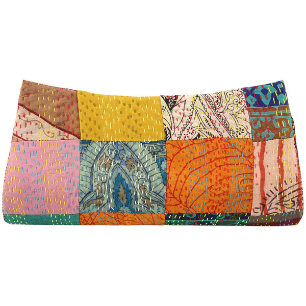 Heirloom Sari Silk Clutch