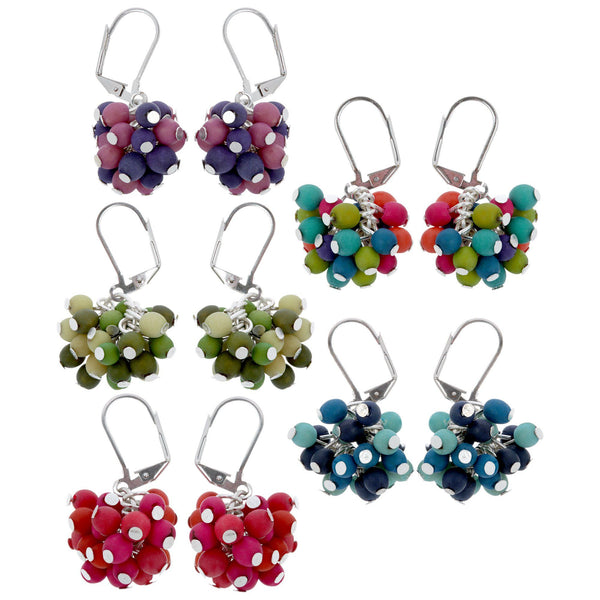 Her Colorful Nature Earrings