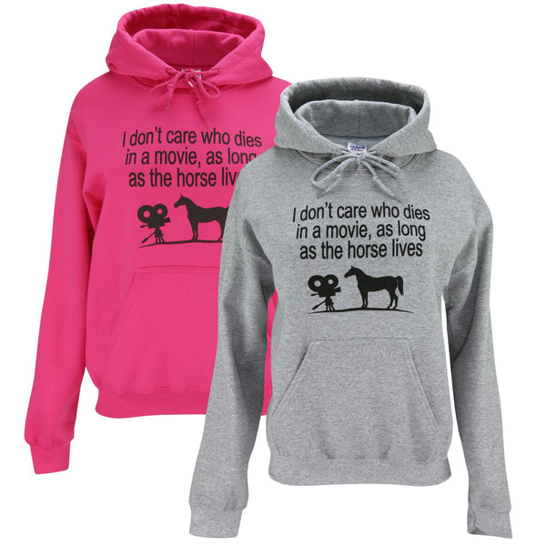 Horse Lives Hooded Sweatshirt