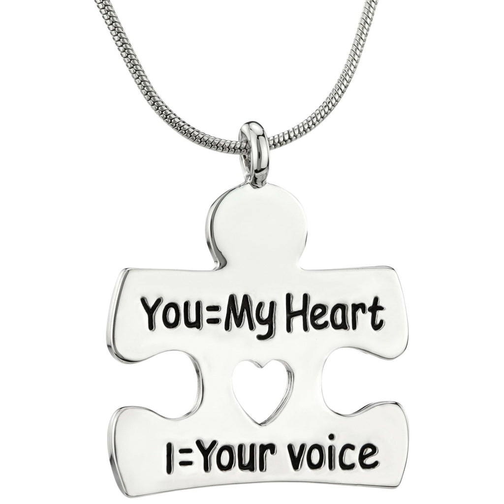 I Am Your Voice Autism Necklace