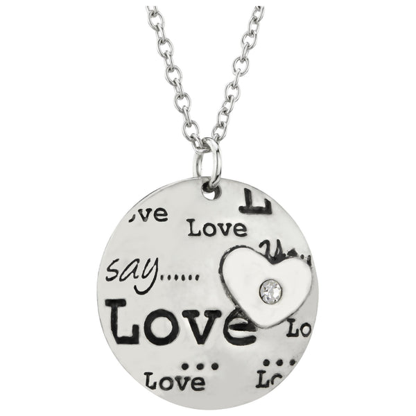 I Heart Love Necklace