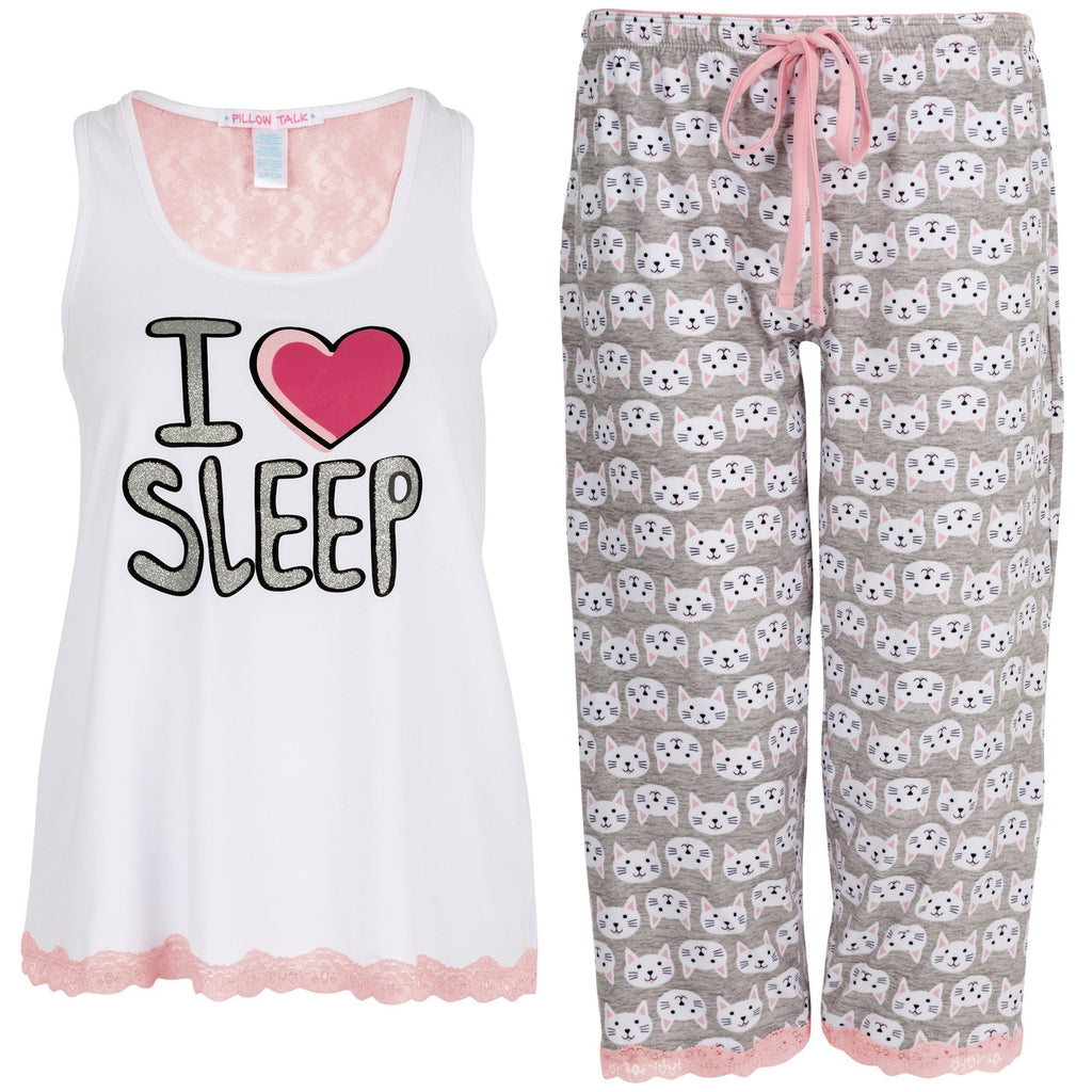 I Heart Sleep Pajama Set
