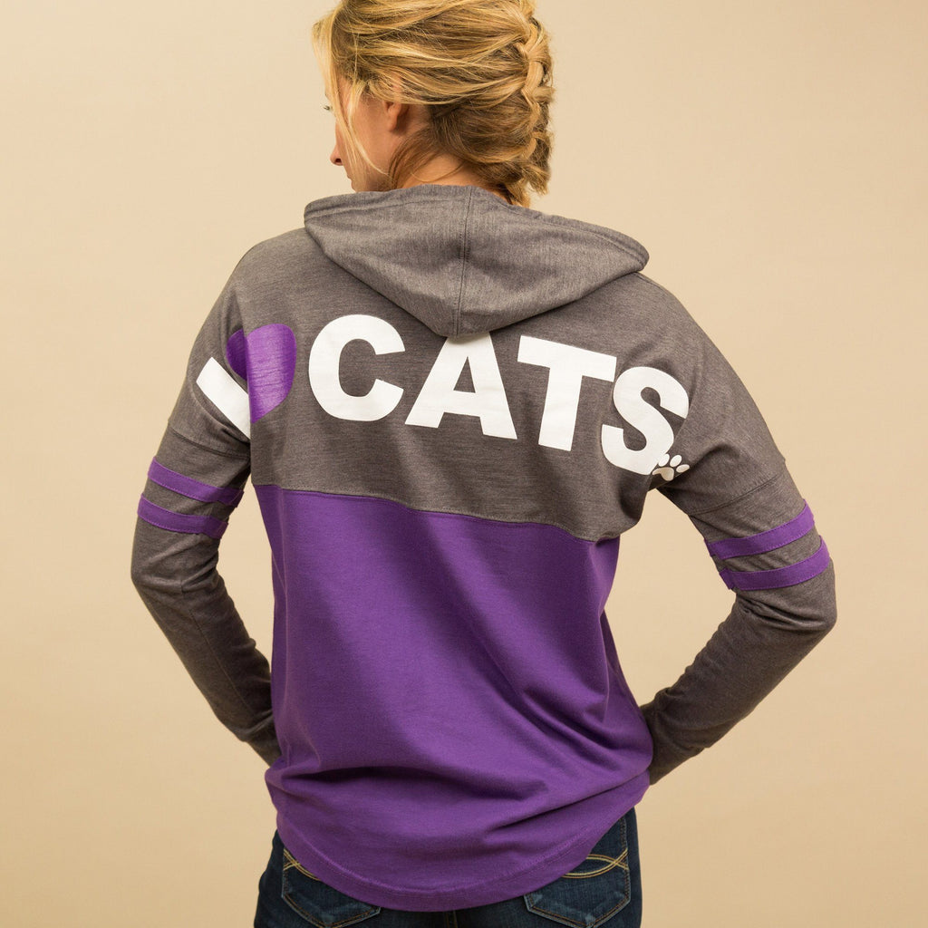 I Love Cats & Dogs Hoodie