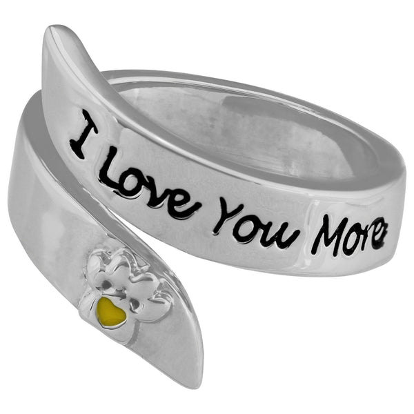 I Love You More Paw Wrap Ring