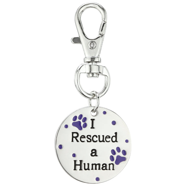 I Rescued A Human Pet Tag