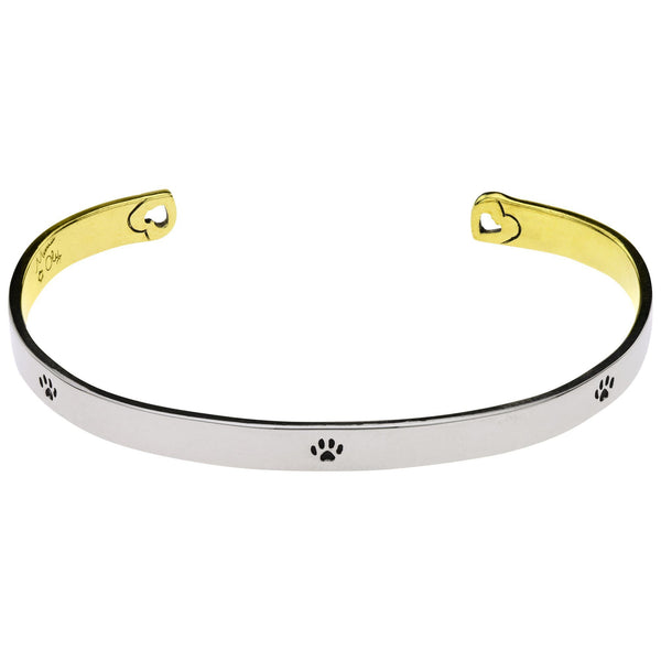 I Will Love You Forever Cuff Bracelet