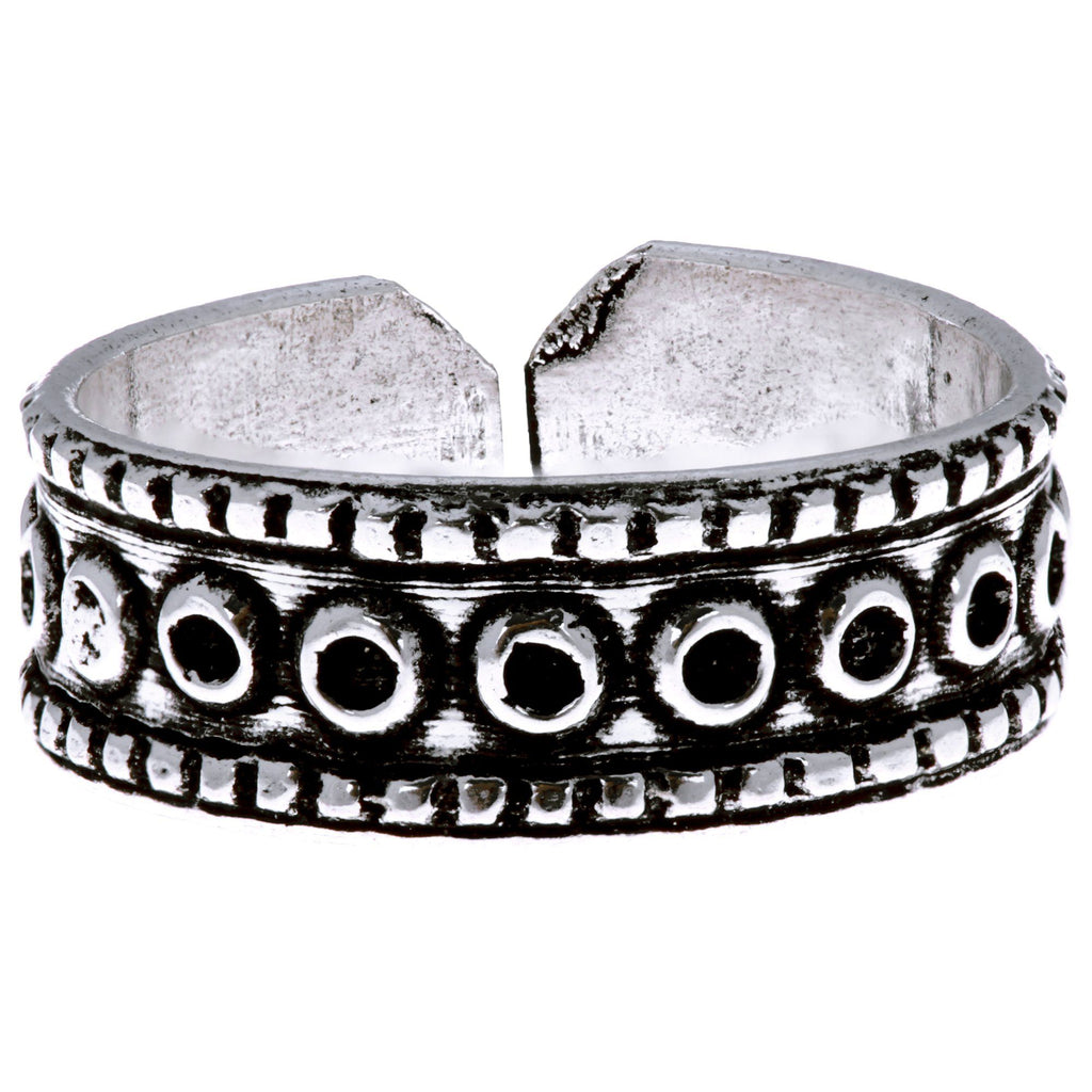 Indian Motif Adjustable Ring