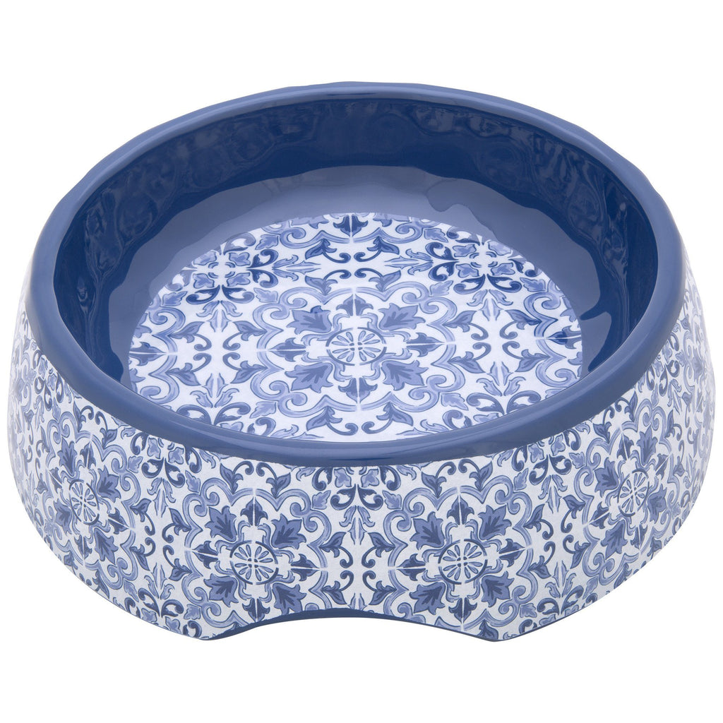 Indigo Medium Dog Dish